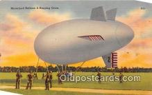 tra004140 - Motorized Balloon & Rigging Crew Postcard Post Card