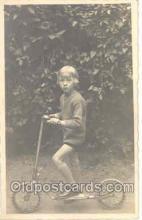 tra005004 - Children, Child, Bicycle Bike Postcard postcards