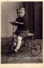 tra005053 - Chidren on Bicycles, tricycles postcard postcards