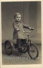 tra005055 - Chidren on Bicycles, tricycles postcard postcards