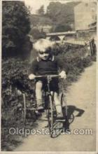tra005059 - Chidren on Bicycles, tricycles postcard postcards