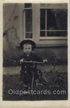 tra005063 - Chidren on Bicycles, tricycles postcard postcards