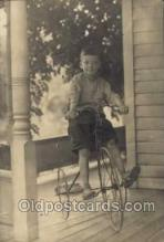 tra005075 - Chidren on Bicycles, tricycles postcard postcards