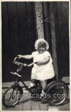 tra005076 - Chidren on Bicycles, tricycles postcard postcards