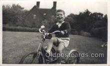 tra005082 - Chidren on Bicycles, tricycles postcard postcards