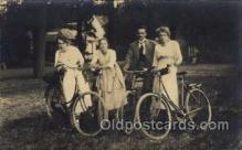 tra005083 - Chidren on Bicycles, tricycles postcard postcards