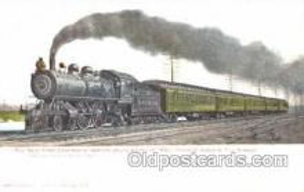 tra006060 - Empire State Express, NY, USA Train Trains, Postcard Postcards