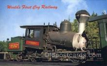 tra006149 - Waumbek Train Trains Locomotive, Steam Engine,  Postcard Postcards