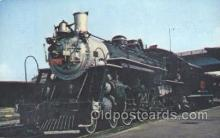 tra006152 - Savannah and Atlandta Train Trains Locomotive, Steam Engine,  Postcard Postcards