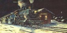 tra006153 - Chicago and North Western Railway Wilton, Wisconsin, Usa Train Trains Locomotive, Steam Engine,  Postcard Postcards