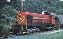 tra006165 - Frankfort and cincinnati Railroad Train Trains Locomotive, Steam Engine,  Postcard Postcards