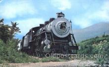 tra006166 - Southwest Virginia USA Scenic Railroad Train Trains Locomotive, Steam Engine,  Postcard Postcards