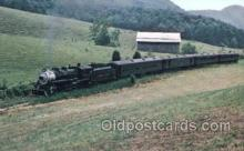 tra006167 - Southwest Virginia USA Scenic Railroad Train Trains Locomotive, Steam Engine,  Postcard Postcards