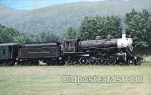 tra006169 - Southwest Virginia USA Scenic Railroad Train Trains Locomotive, Steam Engine,  Postcard Postcards