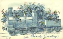 tra006171 - Train Trains Locomotive, Steam Engine,  Postcard Postcards