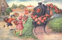 tra006172 - Train Trains Locomotive, Steam Engine,  Postcard Postcards