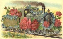 tra006173 - Train Trains Locomotive, Steam Engine,  Postcard Postcards