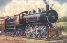 tra006181 - The Twentieth Century limited Train Trains Locomotive, Steam Engine,  Postcard Postcards
