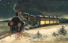 tra006183 - Train Trains Locomotive, Steam Engine,  Postcard Postcards