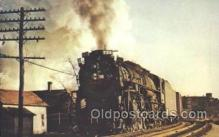 tra006193 - Nickel Plate Train Trains Locomotive, Steam Engine,  Postcard Postcards