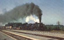 tra006194 - Nickel Plate Train Trains Locomotive, Steam Engine,  Postcard Postcards