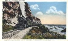 tra006195 - Southern Pacific Coast Train Trains Locomotive, Steam Engine,  Postcard Postcards