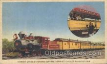 tra006207 - Chicago Railroad Fair Train Trains Locomotive, Steam Engine,  Postcard Postcards