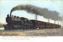 tra006210 - New York Central, USA Fastest Train in the world, Train Trains Locomotive, Steam Engine,  Postcard Postcards