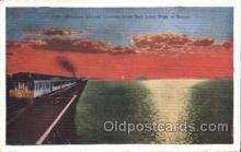 tra006224 - The Overland Limited Train Trains Locomotive, Steam Engine,  Postcard Postcards