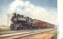 tra006263 - Pennsylvania, Usa Train Trains Locomotive, Steam Engine,  Postcard Postcards