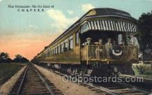 tra006266 - The Olympian Train Trains Locomotive, Steam Engine,  Postcard Postcards