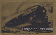 tra006277 - The Twentieth Century limited Train Trains Locomotive, Steam Engine,  Postcard Postcards