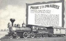 tra006278 - Pride of the Prairies Train Trains Locomotive, Steam Engine,  Postcard Postcards