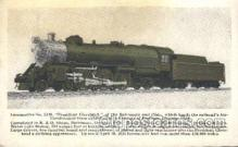 tra006292 - Locomotive Train Trains Locomotive, Steam Engine,  Postcard Postcards