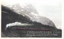 tra006293 - Trans Canada Limited Near Yoho British Columbia, Train Trains Locomotive, Steam Engine,  Postcard Postcards