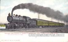 tra006297 - Empire State Express Train Trains Locomotive, Steam Engine,  Postcard Postcards
