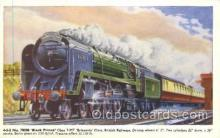 tra006302 - Black Prince Train Trains Locomotive, Steam Engine,  Postcard Postcards