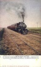 tra006317 - North Coast Limited Train Trains Locomotive, Steam Engine,  Postcard Postcards