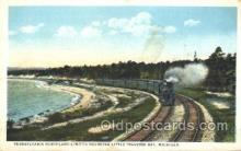 tra006330 - Pennsylvania Northland Limited Little Traverse Bay, Michigan, USA Train Trains Locomotive, Steam Engine,  Postcard Postcards