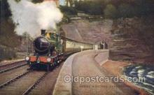 tra006333 - Great Western Express Train Trains Locomotive, Steam Engine,  Postcard Postcards