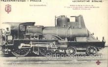 tra006371 - France Train Trains Locomotive, Steam Engine,  Postcard Postcards