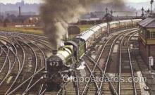tra006374 - Bristolian Train Trains Locomotive, Steam Engine,  Postcard Postcards