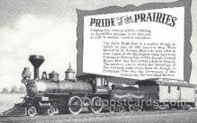 tra006381 - Pride of the Prairies Train Trains Locomotive, Steam Engine,  Postcard Postcards