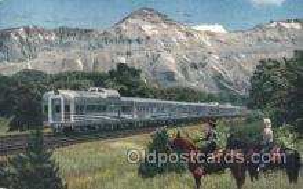 tra006396 - Denver Zephyr Train Trains Locomotive, Steam Engine,  Postcard Postcards