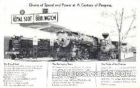 tra006404 - Train Trains Locomotive, Steam Engine,  Postcard Postcards