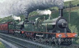 tra006410 - St. Pancras Express Train Trains Locomotive, Steam Engine,  Postcard Postcards