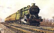 tra006412 - Capitals United Express Train Trains Locomotive, Steam Engine,  Postcard Postcards