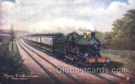 tra006417 - Raphael Tuck & Sons Flying Dutchman Train Trains Locomotive, Steam Engine,  Postcard Postcards