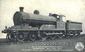 tra006420 - Experiment Built April 1905 Train Trains Locomotive, Steam Engine,  Postcard Postcards