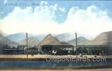 tra006422 - A Hold up of a Grey Mountain Special Train Trains Locomotive, Steam Engine,  Postcard Postcards
